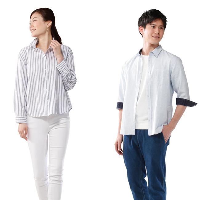 フレンチリネンシャツ(紳士用・婦人用)