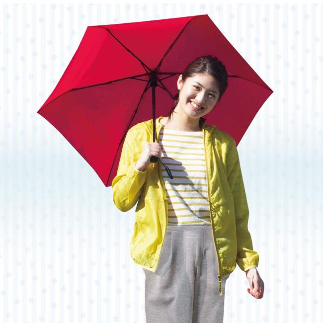 KiU レインポンチョ超はっ水自動開閉折畳み傘超軽量耐風折畳み傘
