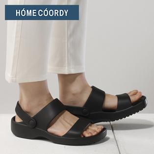 HOME COORDY 歩きやすいサンダル バックストラップ付