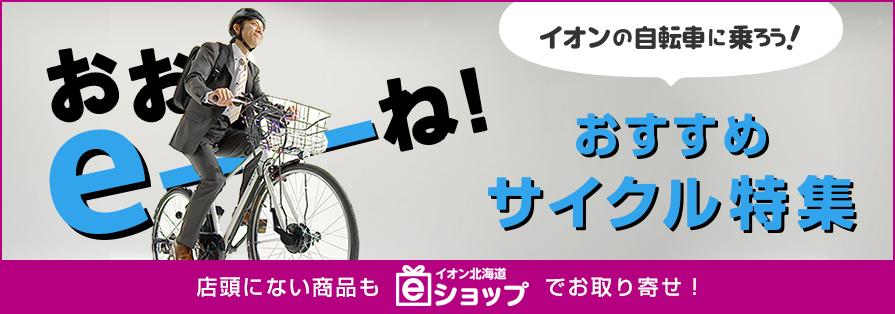 イオン北海道のサイクル