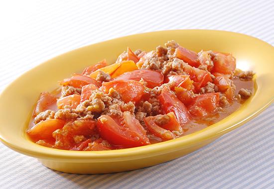 トマト麻婆